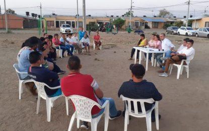 En Villa David, beneficiarios del proyecto se reunieron con Idury