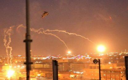 Dos cohetes caen en la Zona Verde de Bagdad