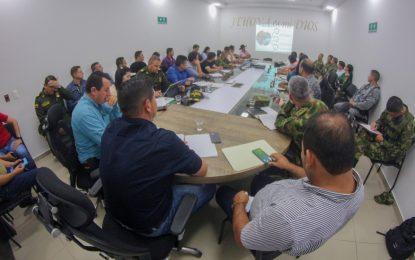 Conclusiones del consejo de seguridad en Casanare