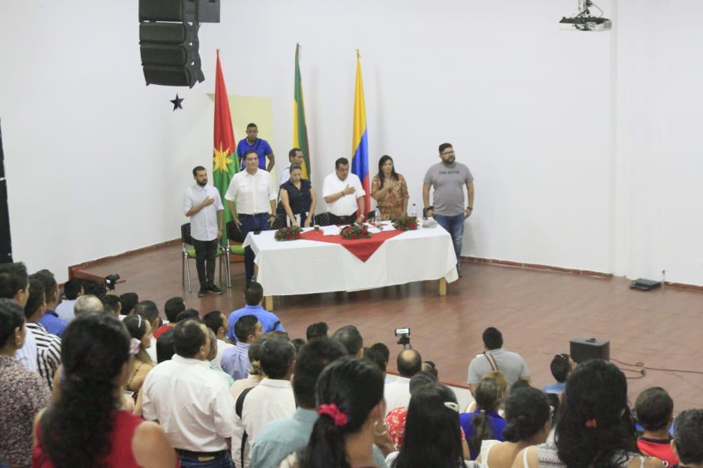 Photo of Se posesionaron Ediles electos de los corregimientos de Yopal