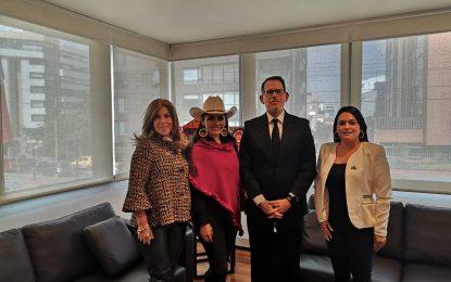 El primer encuentro de misiones diplomáticas acreditadas por el Estado colombiano, se podría realizar en Yopal