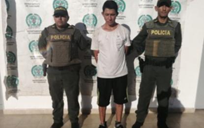Fue enviado a la cárcel después de haber hurtado un establecimiento de comercio en Villanueva