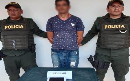 En Vichada fue capturado un hombre por el delito de hurto