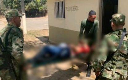 Capturados por el Ejército alias Panda y Siete del Eln en Arauca