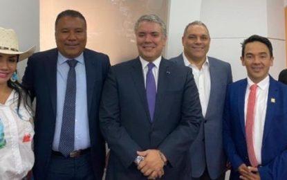 Presidente Iván Duque ratificó compromiso con Arauca en reunión en Casa de Nariño con Gobernador y Congresistas