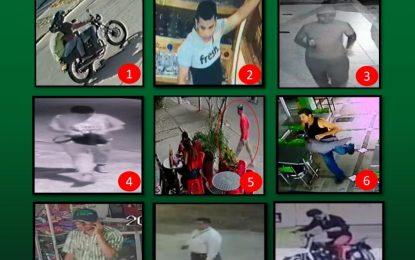 La Policía Casanare tiene en la mira a nueve delincuentes catalogados los más buscados en Yopal