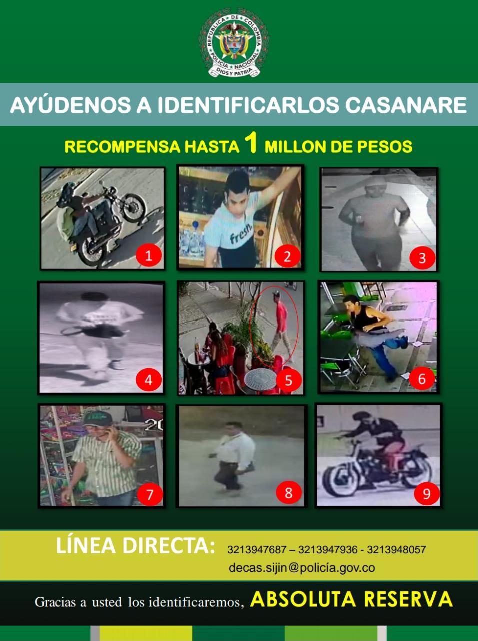 Photo of La Policía Casanare tiene en la mira a nueve delincuentes catalogados los más buscados en Yopal
