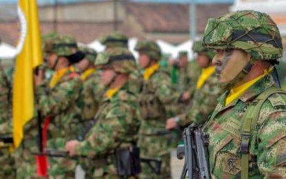 Anuncian militarización de siete municipios de Cundinamarca
