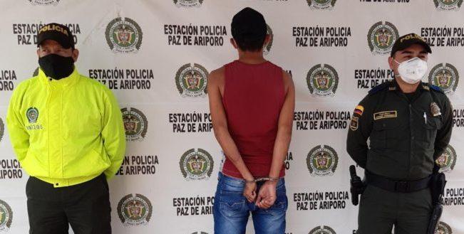 Photo of Policía captura presunto responsable de hurto de motocicleta en Paz de Ariporo