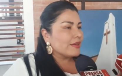 """""""Nuestra meta tener un Palacio municipal bajo criterio colonial en celebración al Bicentenario"""": Cristina Guarnizo Alcaldesa de Pore"""