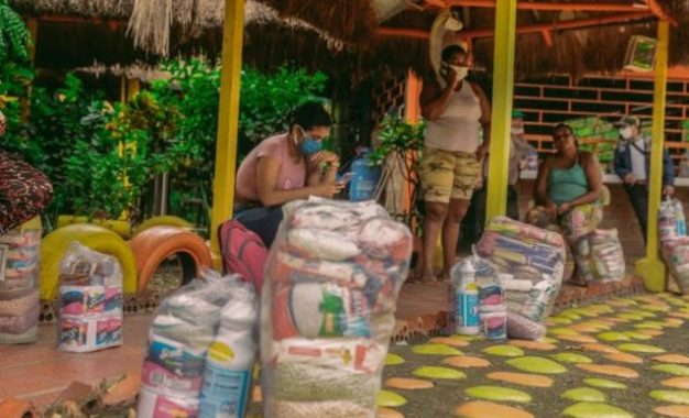 Grupo Ecopetrol continúa apoyando con ayudas humanitarias a familias afectadas por crisis del Coronavirus
