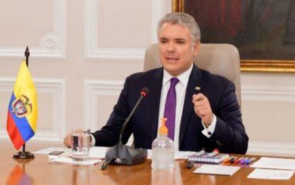 Presidente Iván Duque prorroga Aislamiento Preventivo Obligatorio hasta el próximo 27 de abril