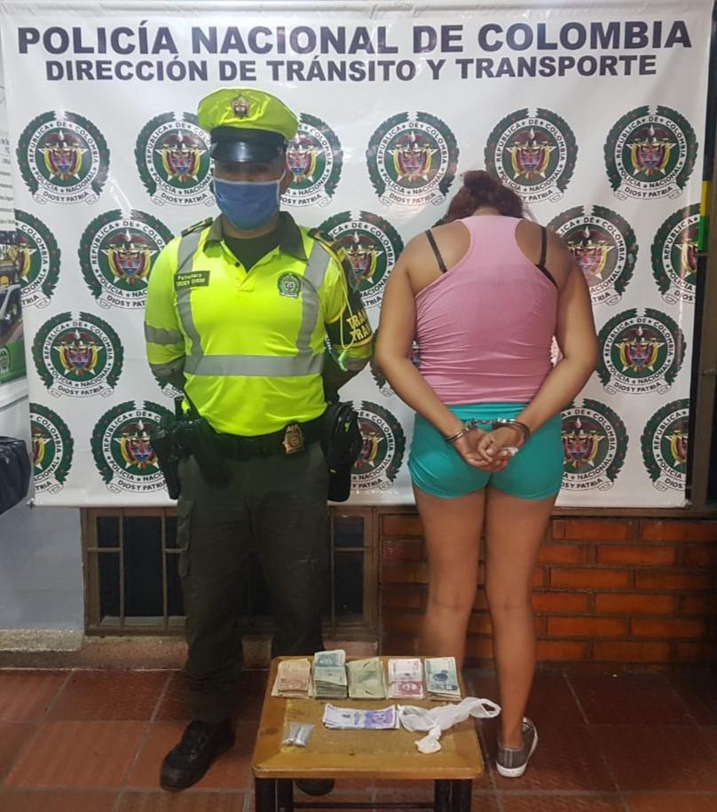 Photo of Capturada en Yopal, una mujer de nacionalidad venezolana con base de coca y marihuana