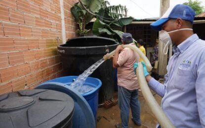 EAAAYgarantiza agua potable en zonas vulnerables de Yopal