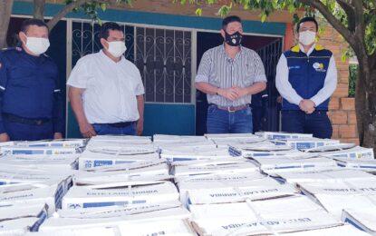 Más de 800 mercados fueron entregados por la Administración departamental en el norte de Casanare