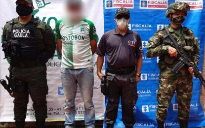 Alias Mateo, presunto cabecilla del ELN en Casanare fue enviado a la cárcel