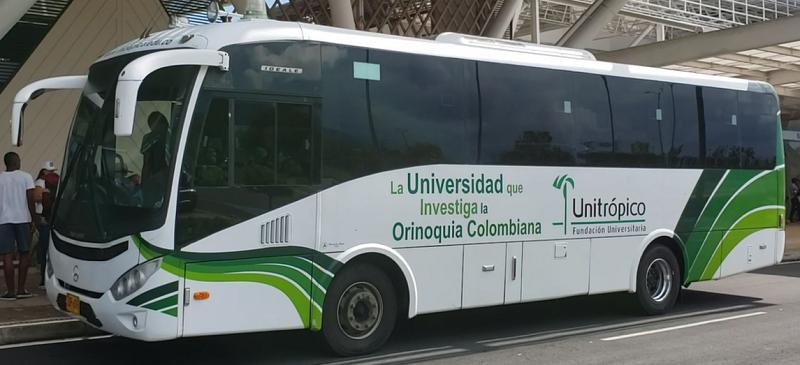 Photo of Unitrópico facilita bus de la Universidad para retorno de jóvenes casanareños