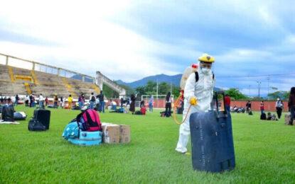 213 universitarios procedentes de Bogotá y Medellín retornaron a Casanare a través de Corredor Humanitario
