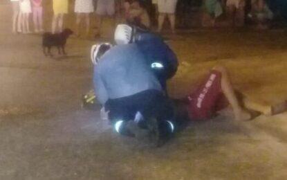 Presunto ladrón recibió golpiza de manos de su víctima, en hechos registrados en Aguazul Casanare