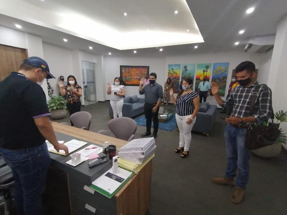 Photo of Se posesionaron los corregidores de Yopal ante el Alcalde Encargado Hugo Archila