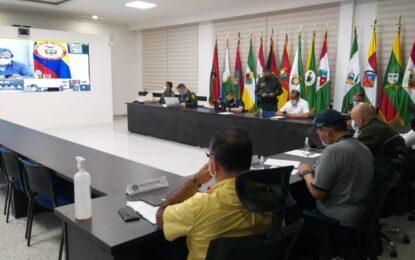Ministro de Defensa adquiere compromisos con Alcalde (E) de Yopal sobre seguridad, migrantes y protección a funcionaria de la Administración Municipal