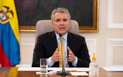 El Aislamiento Preventivo Obligatorio se extiende hasta el 15 de julio, anuncia Duque