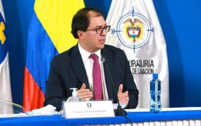 Fiscal Barbosa califica de 'vergüenza' una nueva cuarentena en Bogotá