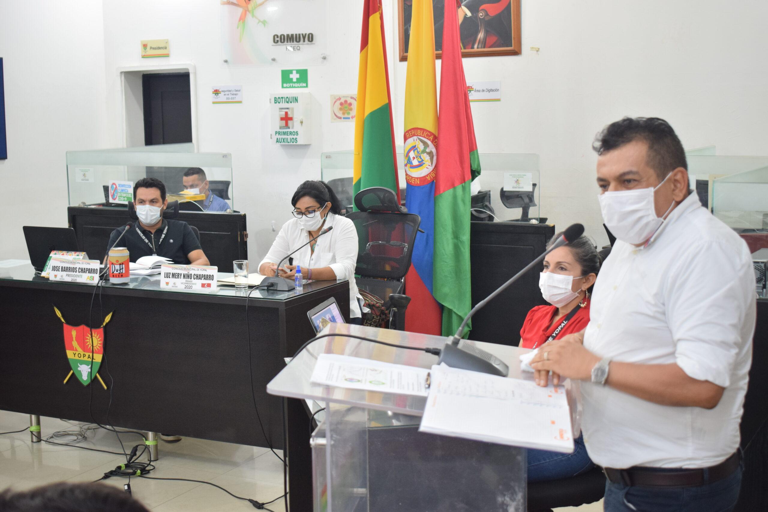 Photo of Segundo periodo de sesiones del concejo municipal, fueron instaladas formalmente por al Alcalde