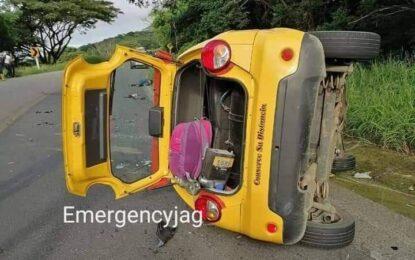 Mujer fallece al chocar de frente con un taxi en la vía Yopal- Paz de Ariporo