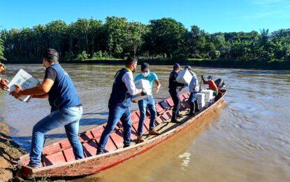 Familias afectadas por desbordamiento de ríos en Paz de Ariporo, Pore y Yopal, recibieron ayudas humanitarias por parte de la administración departamental