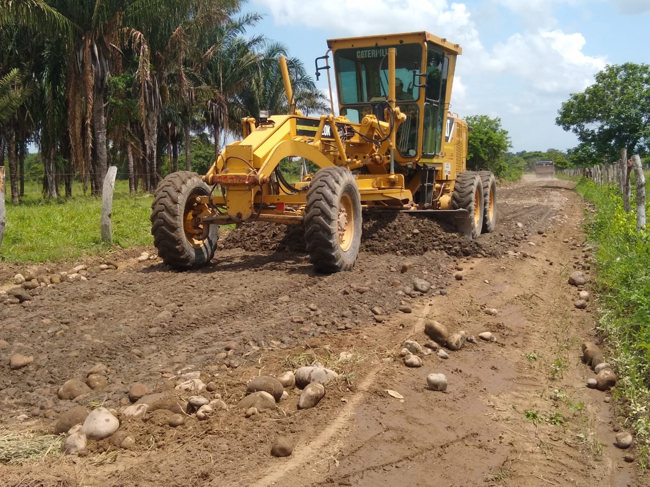 Photo of Avanza mantenimiento y rehabilitación en vías de Hato Corozal