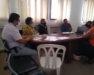 Durante reunión entre Secretaria de Obras Públicas y voceros de El Charte y La Guafilla, se lograron acuerdos en temas de acueducto y gas