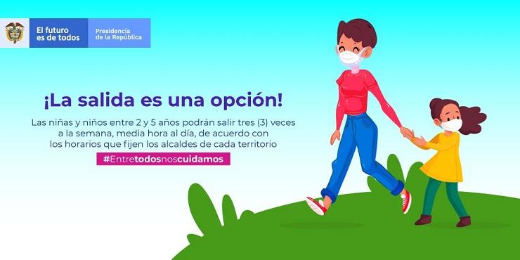 Photo of Administración municipal da recomendaciones para la salida de niñas y niños entre dos y cinco años de edad al espacio público
