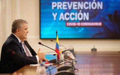 El Aislamiento Preventivo Obligatorio en Colombia se extiende hasta el 1° de agosto, anuncia el Presidente Duque