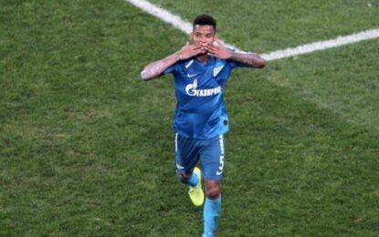 Wílmar Barrios, campeón en Rusia con el Zenit