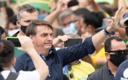 Jair Bolsonaro presenta síntomas de covid-19