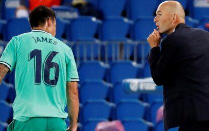 ¿James va a volver a jugar en el Madrid?, así respondió Zidane