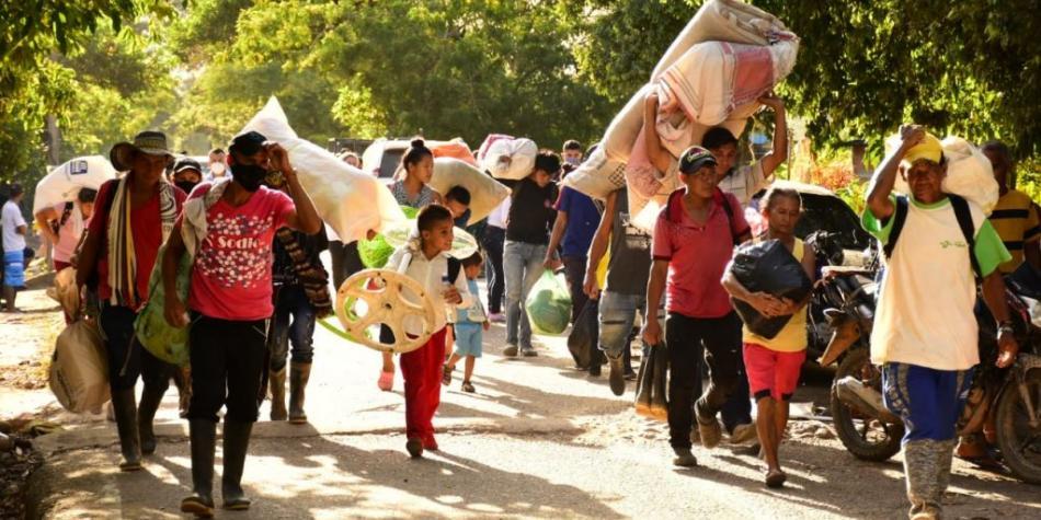 Photo of Desplazamiento masivo en zona rural de Cúcuta tras masacre en Tibú