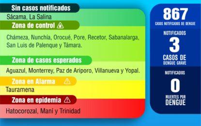 El Dengue, otra enfermedad que se viene contrarrestando en Casanare