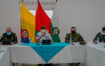Gobernador de Casanare, comprometido con la Seguridad Rural y del Gremio Ganadero del departamento