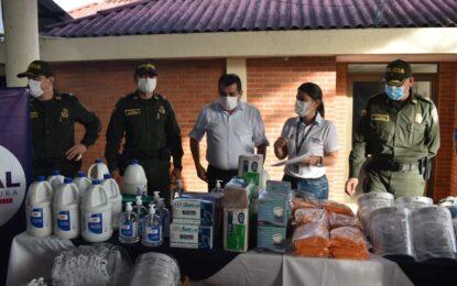 Policía Casanare recibe Elementos de Protección Personal, por parte de la administración municipal