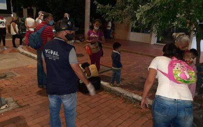 A través de corredor humanitario, 35 Venezolanos que residían en Yopal, salieron voluntariamente hacia su país