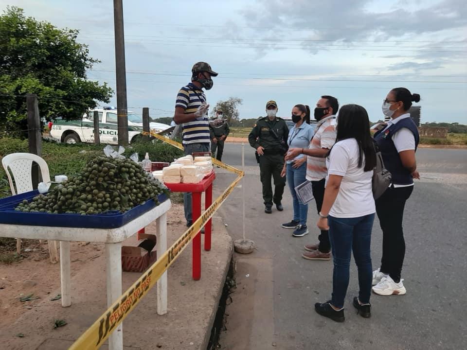 Photo of Administración municipal continúa realizando controles de verificación de protocolos de bioseguridad a comerciantes