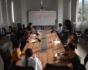 De manera virtual se llevó a cabo sesión del Consejo Consultivo de mujeres, donde se dio a conocer avances de la Política Pública de la Mujer