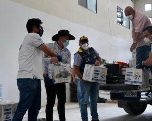 Familias vulnerables de Támara recibieron ayudas humanitarias por parte de la Gobernación