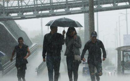 Segunda temporada de lluvias ya llegó a Bogotá y la Sabana