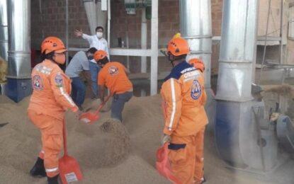 Cinco trabajadores mueren tras colapso de tolva de un molino en Meta