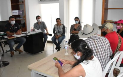 Voceros de La Bendición manifestaron su inconformismo ante Alcalde de Yopal, sobre proceso de estratificación