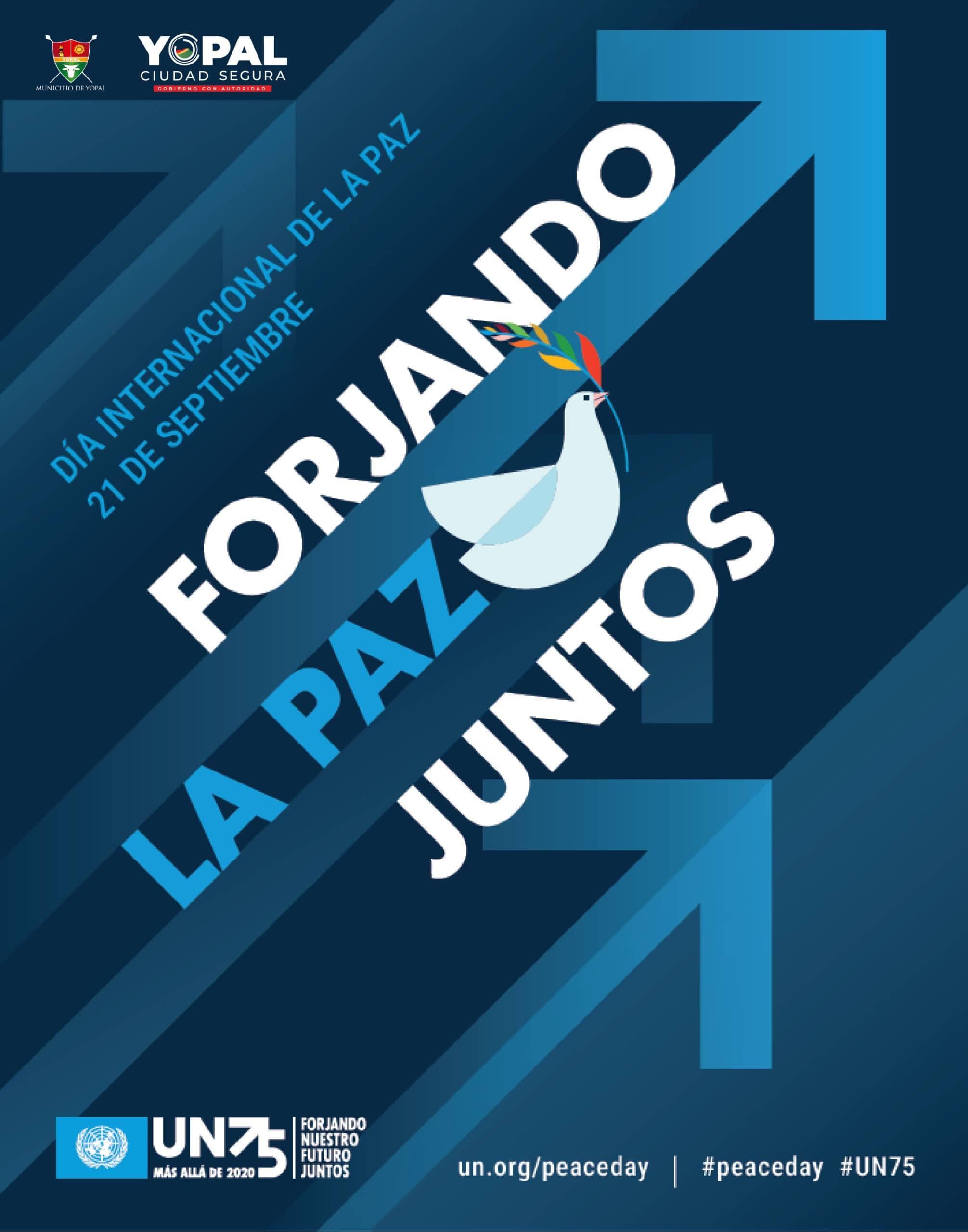 Photo of Este 21 de septiembre se conmemora el Día Internacional de La Paz