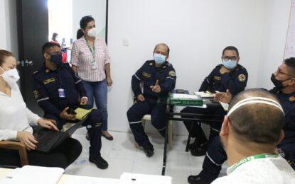 Capresoca y Bomberos adelantan acuerdos para la prestación de servicios de traslado en ambulancias a afiliados de la EPS